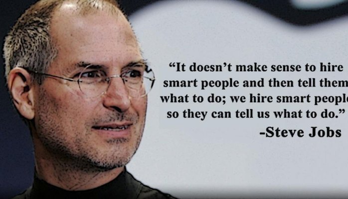 Hiring Smart People… dont strip them of their originality