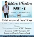 Relations and Functions Class 12 Maths