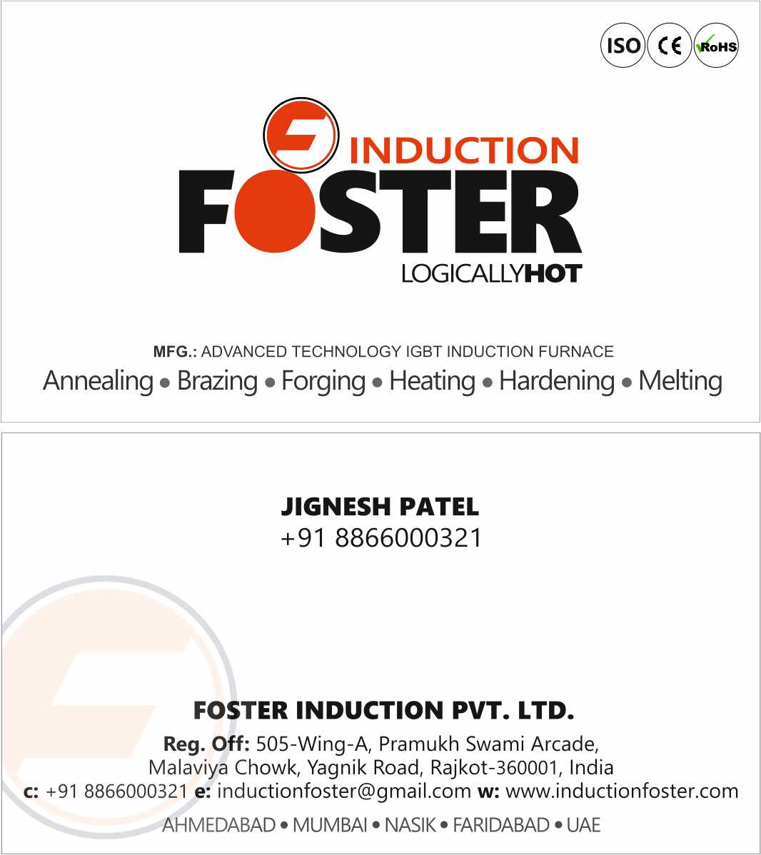 Foster Induction Private Limited