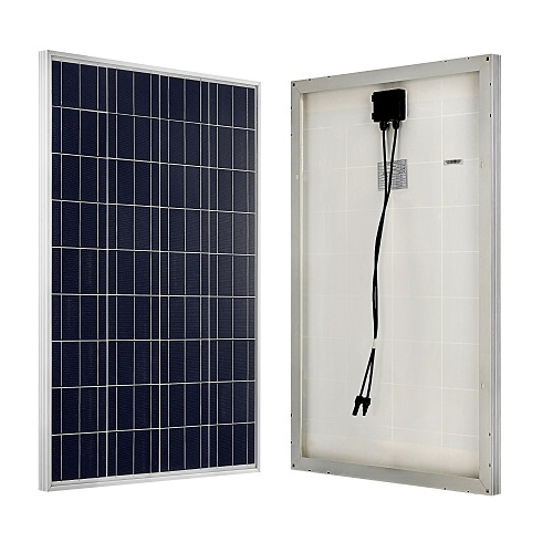 ECO-WORTHY 100W 12V Polycrystalline Solar Panel