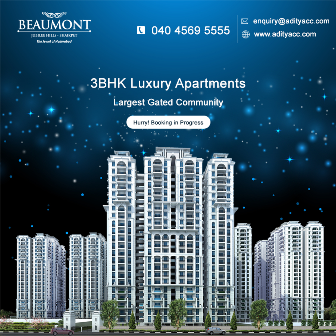 Aditya Beaumont - 3 BHK Apartments For Sale In Hyderabad