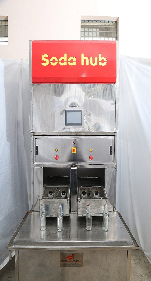 goli soda filling machine