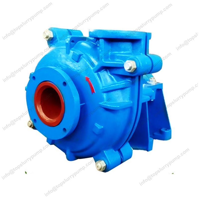 Rubber lined centrifugal ash slurry pump metal liner mine dewatering pumps