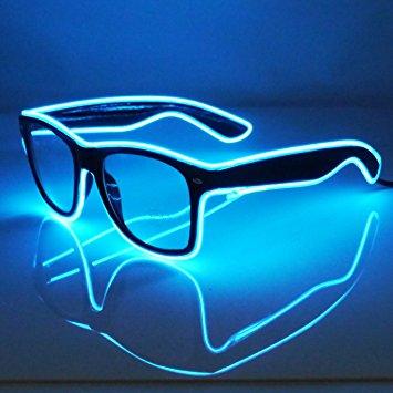 EL Neon LED Goggles
